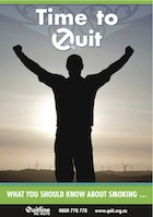 Time to Quit book from www.healthed.govt.nz
