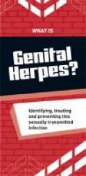 With genital herpes